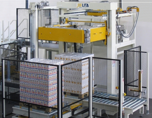 Lita Palletiser by Kensal Handling for the food & beverage industry